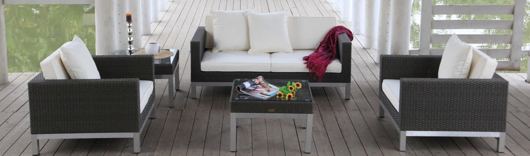 Rattan lounge schwarz  Rattan Lounge Furniture - Reasonably Priced - Patio, Garden ...