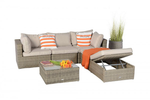 rattan lounge garden furniture special - seating group and sofa, Garten und Bauen